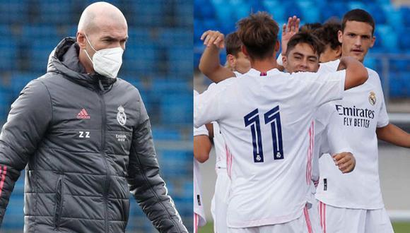 Zidane recurrirá a jugadores de Real Madrid Castilla. (Foto: Agencias)