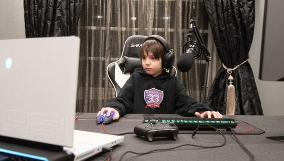 Fortnite: niño de ocho años ya tiene contrato de 33 mil dólares con equipo profesional. (Foto: Team 33)