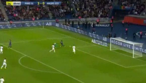 Neymar anotó un golazo para sentenciar el 4-0 del PSG sobre Angers por Ligue 1