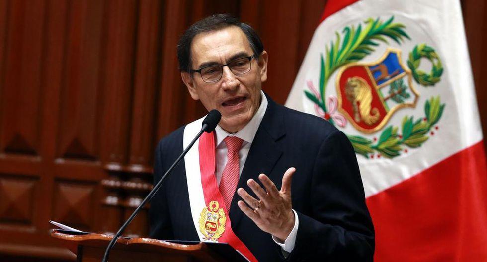 El presidente Martín Vizcarra será el encargado de anunciar el nombre oficial del año 2020. (Foto: BBC)