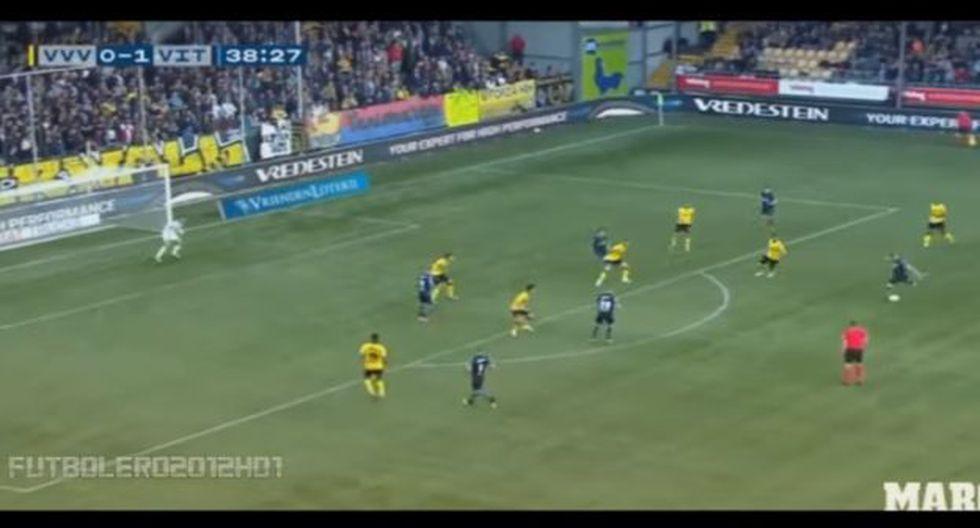 Odegaard ha anotado 10 goles en 35 partidos esta temporada con el Vitesse. (Captura/Youtube)