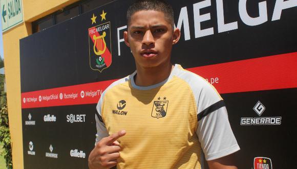 Quevedo ya tiene 10 partidos con el 'rojinegro' (Foto: Melgar)