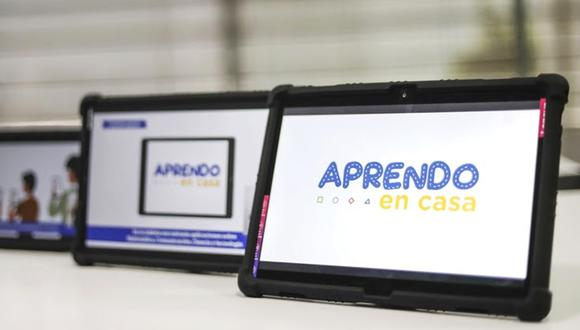 Las tablets que distribuirá el Gobierno a escolares de la zona rural tendrán precargado material de trabajo. (Foto: Minedu)