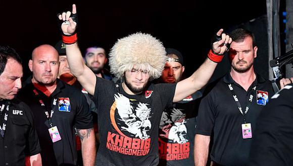 Khabib Nurmagomedov registra un récord de 28-0 como profesional de MMA. (Getty Images)