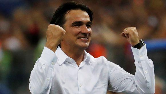 Zlatko Dalic, el técnico de Croacia que siempre lleva un rosario en el bolsillo. (Reuters)