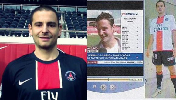 Grégoire Akcelrod creó un portal donde se hacía pasar como futbolista del PSG. (Foto: gregakcelrod.com)