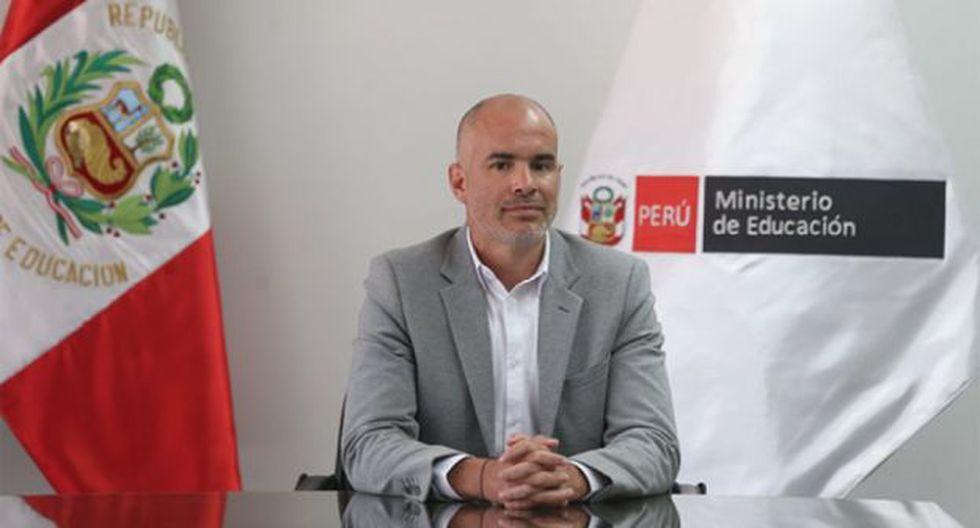Sebastián Suito asumió el cargo de presidente del IPD en enero de este año. (Foto: IPD)