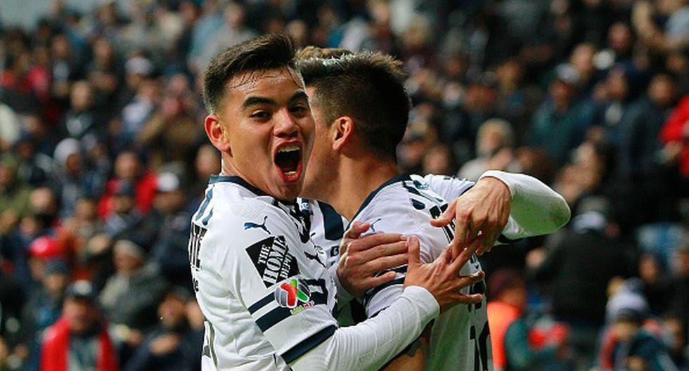 Monterrey venció 4-0 a Lobos BUAP por la fecha 6 del Clausura Liga MX en el Bancomer. (Getty)