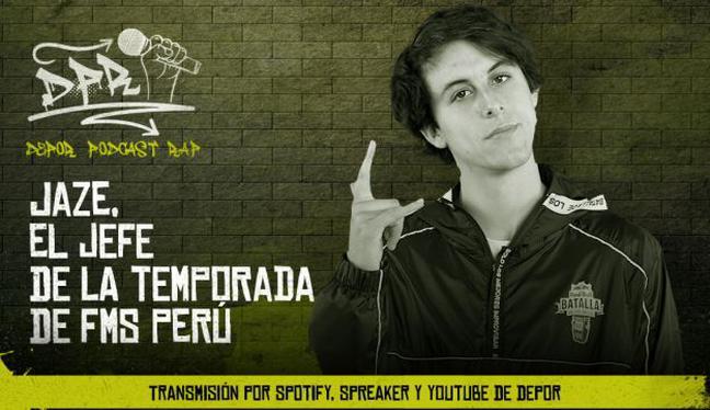 Jaze, el jefe de la temporada de FMS Perú