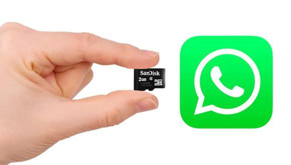 ¡Aprende este sencillo truco de inmediato! Conoce cómo mover WhatsApp a la microSD en este instante. (Foto: WhatsApp)