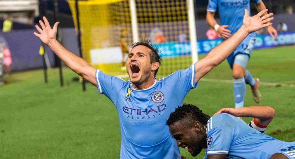 Frank Lampard - New York City FC (2014-2017) (Foto: New York City FC)
