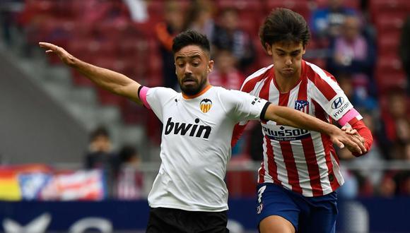 Atlético de Madrid sigue de malas: empató ante Valencia y se aleja de los primeros lugar de LaLiga Santander.