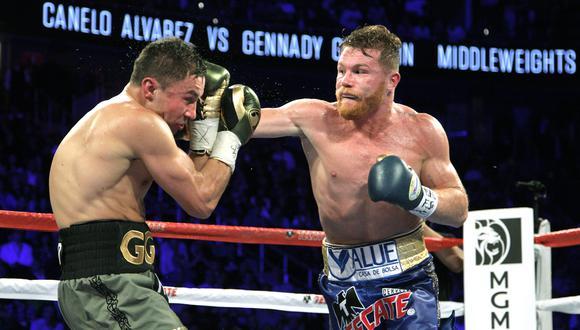 Saúl 'Canelo' Álvarez enfrentaría a Sergiy Derevyanchenko el 14 de septiembre. (AFP)