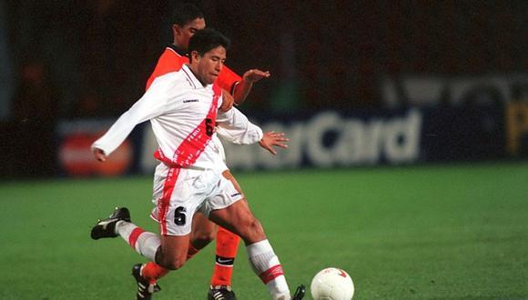 José Pereda jugó con la Selección Peruana en la década de los 90. (Foto: Getty Images)