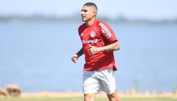 Paolo Guerrero llegó al Internacional tras su paso por Flamengo y Corinthians. (Difusión)