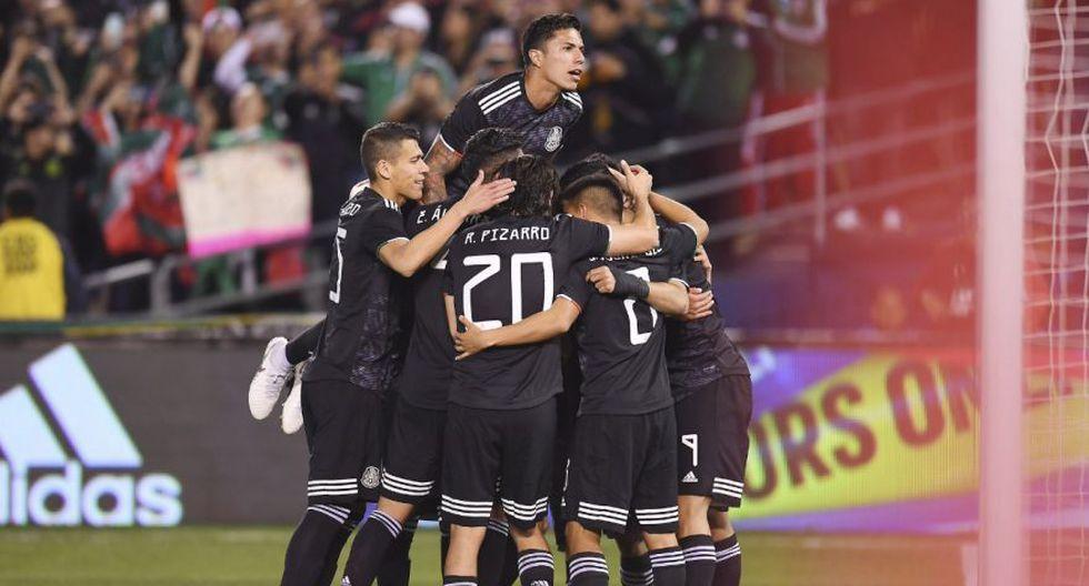 México vs Chile por amistoso de la fecha FIFA 2019 en San Diego.