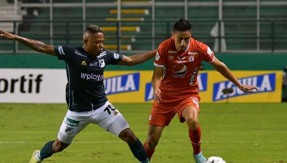 Deportivo Cali venció por 1-0 a América y clasificó a la semifinal de la Copa BetPlay 2021. (Foto: América de Cali)