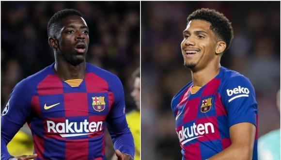 Araujo y Dembélé estarían disponibles para la Champions League ante Napoli.