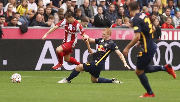 Los de Simeone cayeron frente al Salzburgo por 1 a 0. (Foto: Atlético de Madrid)