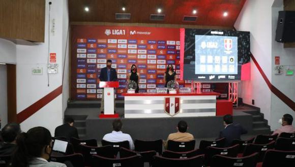 Sigue el sorteo del fixture de la Primera División del fútbol peruano. (Foto: Liga1)