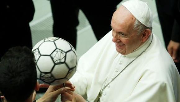 El Papa Francisco se declaró hincha de San Lorenzo de Argentina. (Foto: Getty Images)