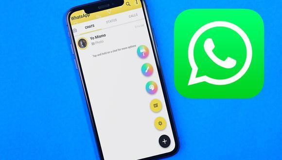 Conoce cómo cambiar de color WhatsApp Plus de inmediato y sin demasiados pasos. (Foto: Mockup)