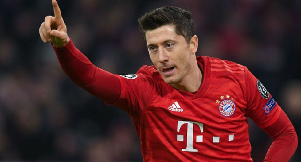 Robert Lewandowski | Bayern Munich | Goles: 25 | Puntos: 50. (Foto: Agencias)