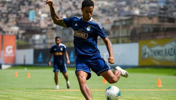 Christopher Olivares feliz por su actualidad en Sporting Cristal (Foto: prensa SC)