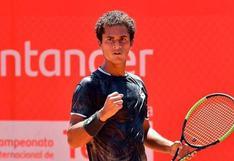 Juan Pablo Varillas se metió a semifinales del Challenger de Santiago