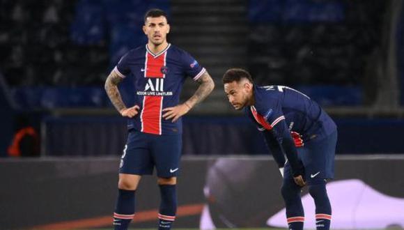 Leandro Paredes no tuvo minutos en la derrota del PSG ante Rennes por Ligue 1. (Foto: Getty)