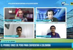 'Full Deporte por Depor': todo el análisis sobre las oncenas que preparan Perú y Colombia