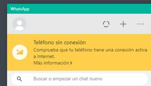 ¿Te ha aparecido este mensaje en WhatsApp Web? Aprende cómo solucionarlo ahora mismo. (Foto: Depor)