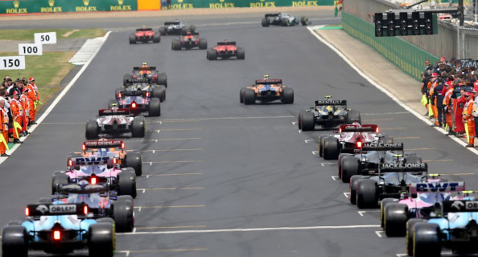 El GP británico se realiza en el Circuito de Silverstone. (Foto: Getty Images)