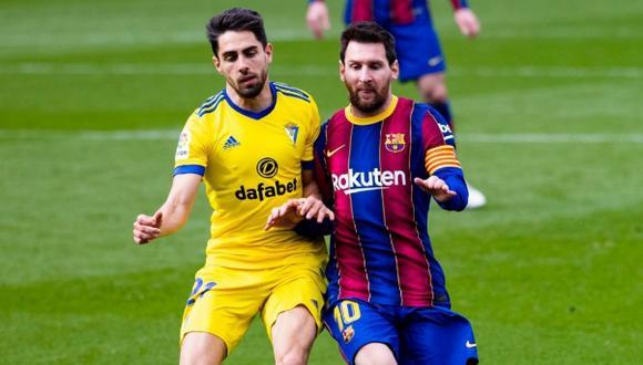 Barceona no pasó del empate frente al Cádiz por la jornada 24 de LaLiga. (Foto: FC Barcelona)