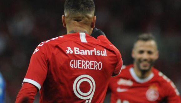 Así narraron los brasileños el 'doblete' de Paolo Guerrero por Copa Brasil 2019. (Agencias)