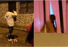 ¿Actuado o real? Lo que debes saber sobre el video viral del hombre que llevó serenata a su novia