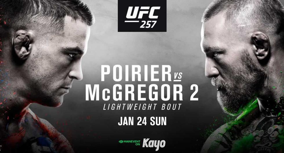 UFC 257, McGregor vs. Poirier pelean EN VIVO y EN DIRECTO hoy: minuto a minuto de pelea vía ESPN