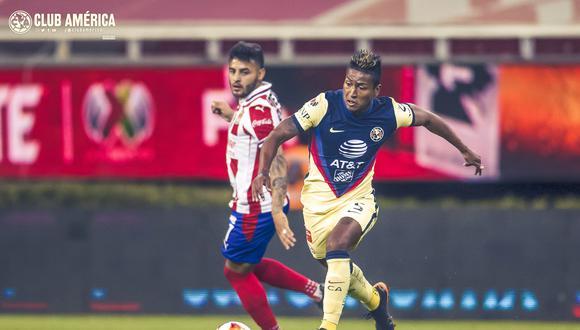 Chivas vs. América jugaron este domingo por la jornada 11 de la Liga MX 2021 (Foto: @ClubAmerica)