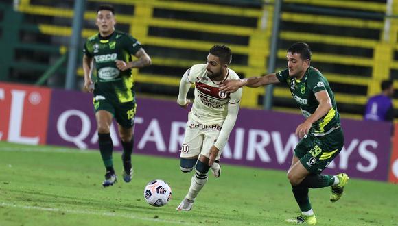 Luis Urruti cumple su segunda temporada en Universitario. (Foto: Universitario de Deportes)