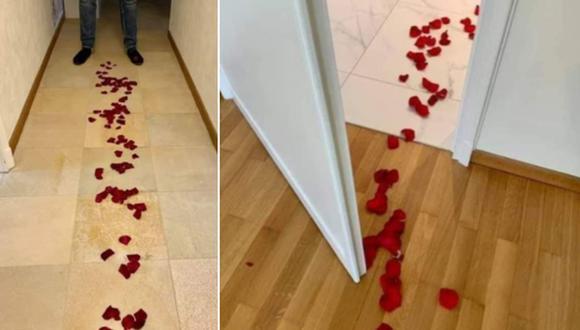 Un hombre descubrió el motivo real del 'romántico detalle' de su pareja y se llevó una gran sorpresa. (Foto: @Miguel4ngel / Twitter)