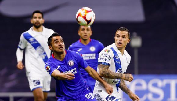 Cruz Azul cayó ante Puebla por la fecha 2 del Clausura MX 2021. (EFE)