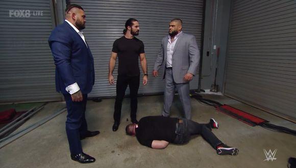 Seth Rollins y AOP le dieron una paliza a Kevin Owens. (Foto: WWE)