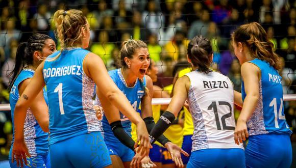 La selección argentina de vóley estará en unos Juegos Olímpicos por segunda edición consecutiva. (Foto: FIVB)