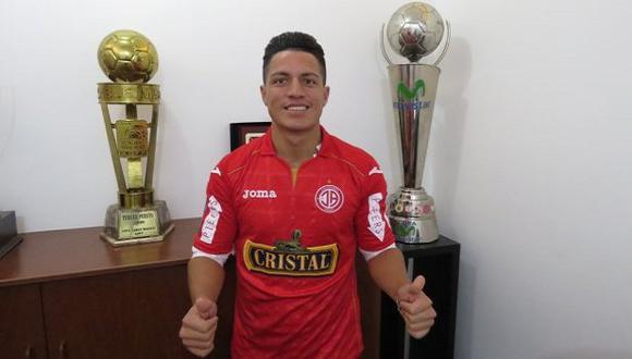 Carlos Olascuaga debutó en Alianza Lima el 2008. (Prensa Juan Aurich)