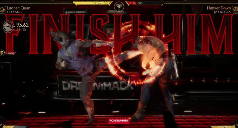 Pelea final de Mortal Kombat 11