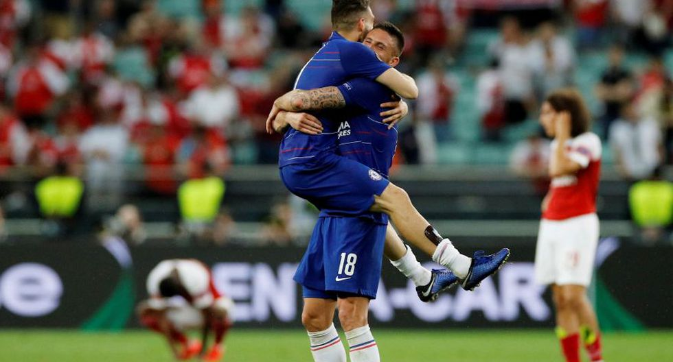 Chelsea logró la segunda Europa League en su historia. (Foto: Agencias)