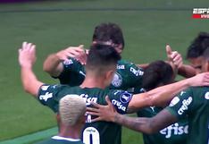 Llegó el primero en Brasil: el gol de Matías Viña para el 1-0 en el Universitario vs. Palmeiras [VIDEO]