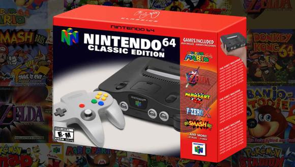 Nintendo 64 Mini (Press Start Australia)