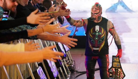 La razón por la que Rey Mysterio no estuvo en WrestleMania 36. (WWE)