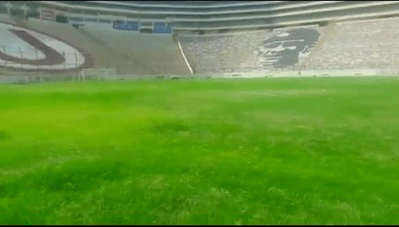 Así luce actualmente el estadio Monumental. (Captura)